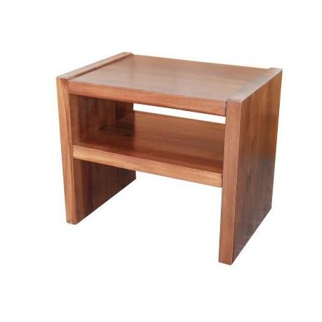 Noční stolek GASTON - jádrový buk - bez zásuvky