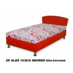 Postel GIZELA 200 x 110 - s čelem s matrací BETA