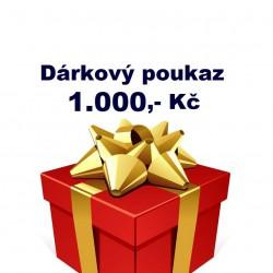 Dárkový poukaz 1 000,- Kč