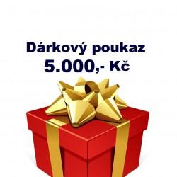 Dárkový poukaz 5 000,- Kč